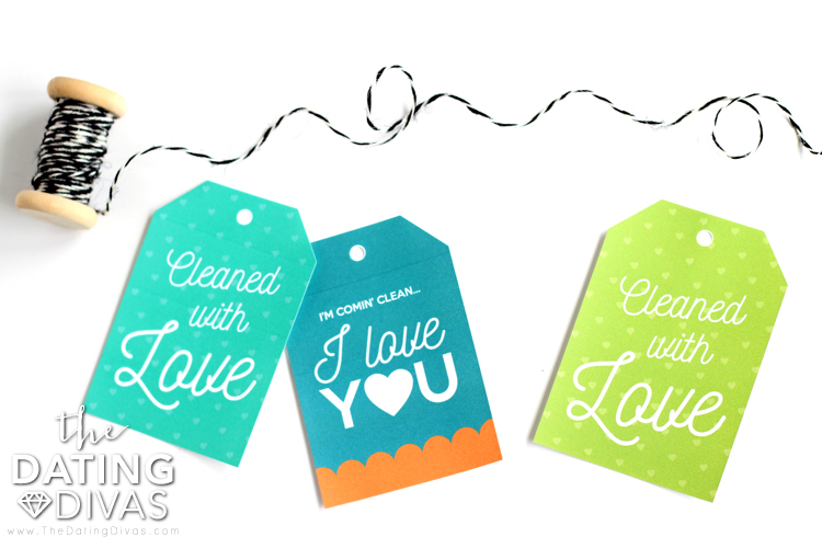 Spring Clean Your Marriage Gift Tags