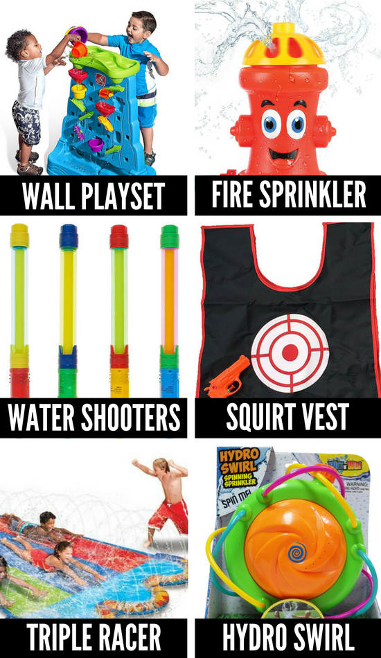 Summer Fun Ideas Using Water