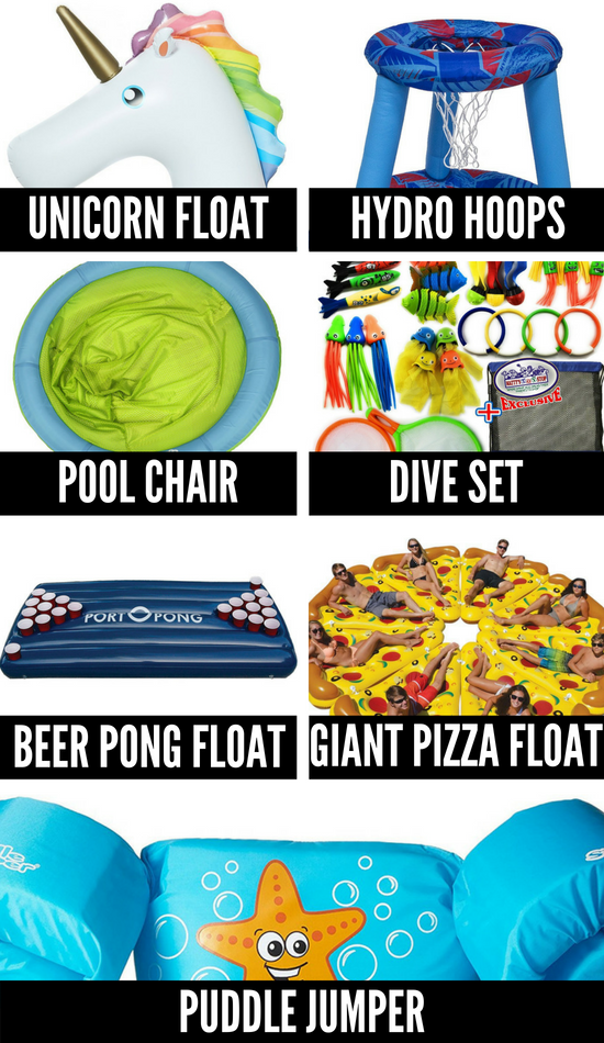 Summer Fun Ideas and Pool Toys