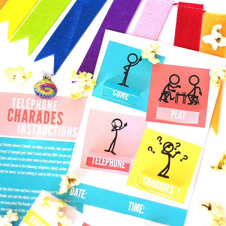Telephone Charades Ideas: A Game for Groups - The Dating Divas