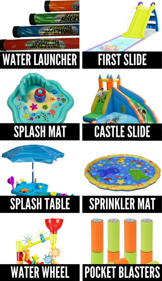 Water Toys and Games for Fun Summer Activities