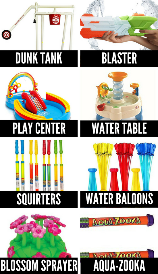 Water and Pool Toys for Summer Fun