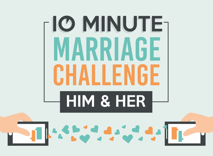 10 Minutes Marriage Challenge Text Messages for Couples