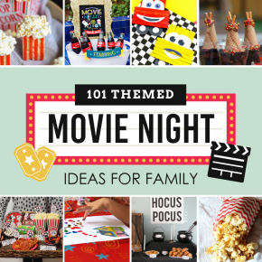 101 Themed Movie Night Ideas for Family