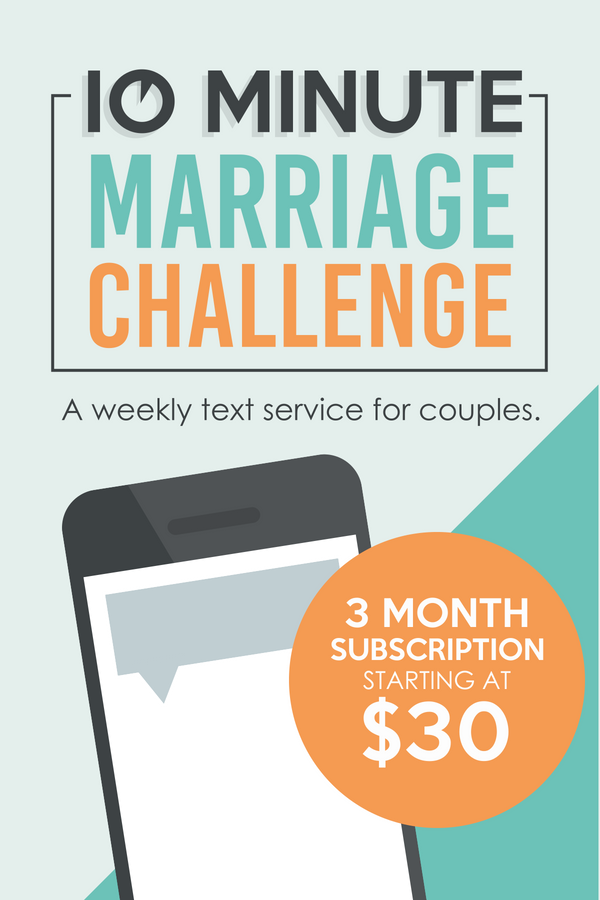A 3-month marriage challenge for couples with romance ideas texted to each of you separately! SO cool! #TheDatingDivas #MarriageChallenge