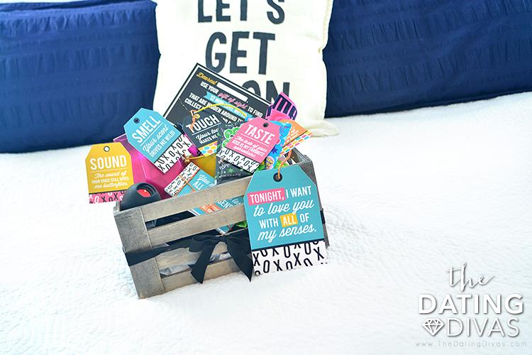 5 Senses Sexy Gift basket