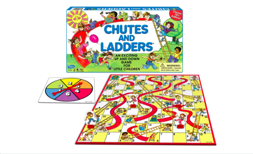 Alternative way to play Chutes and Ladders | The Dating Divas