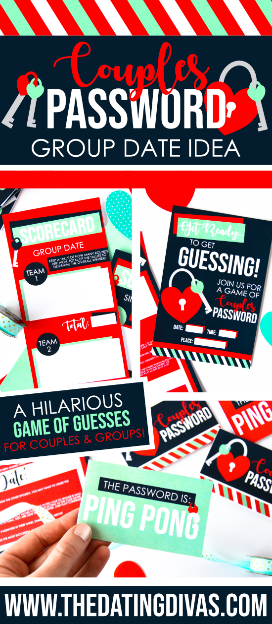 Throw the best couples game night around with this EASY and free idea!! #couplesgamenight #passwordgameshow #passwordgameforcouples #thedatingdivas