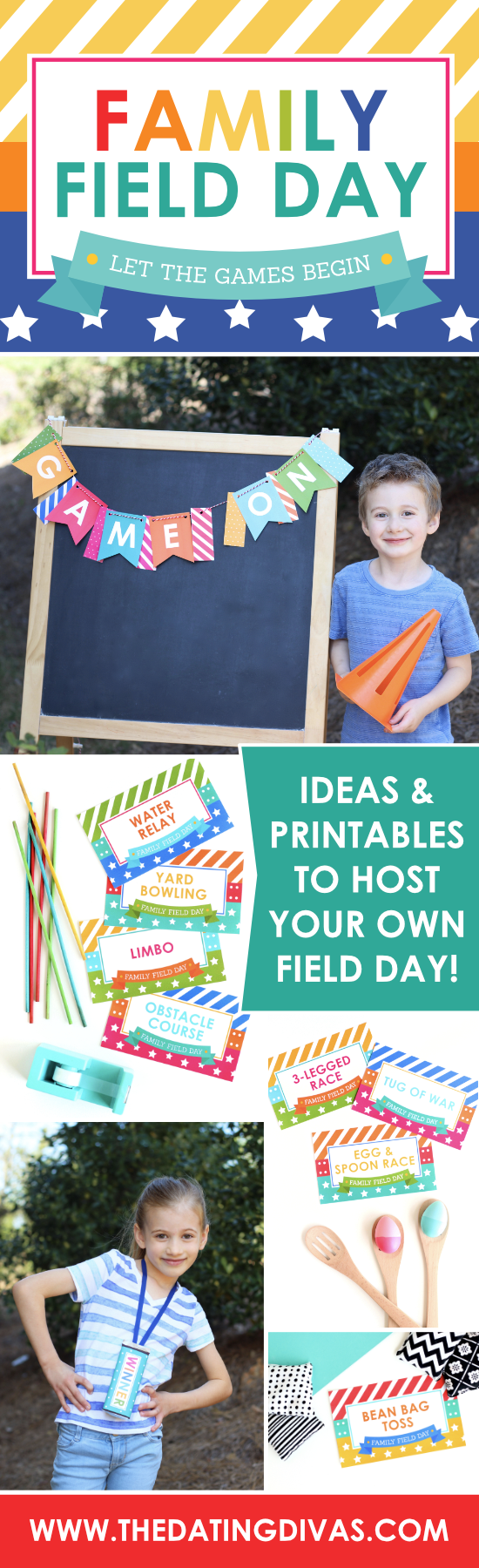 Have some summer fun with a Family Field Day! #TheDatingDivas #FieldDayGames #thedatingdivas
