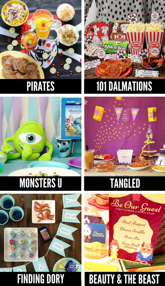 Family Movie Night Ideas