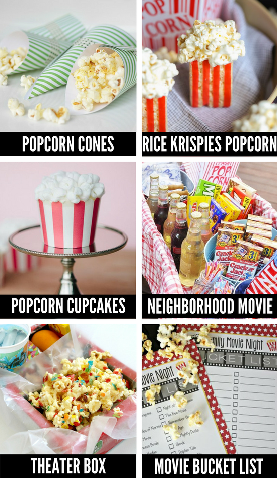 Kids Movie Night Ideas