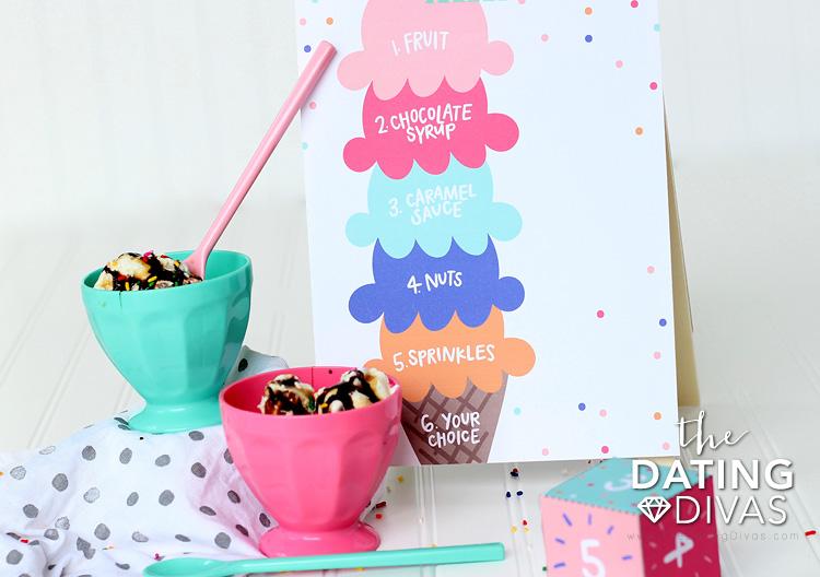 Mini Mom and Dad Ice Cream Date