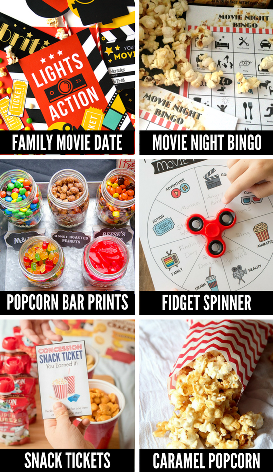 More Movie Night Ideas