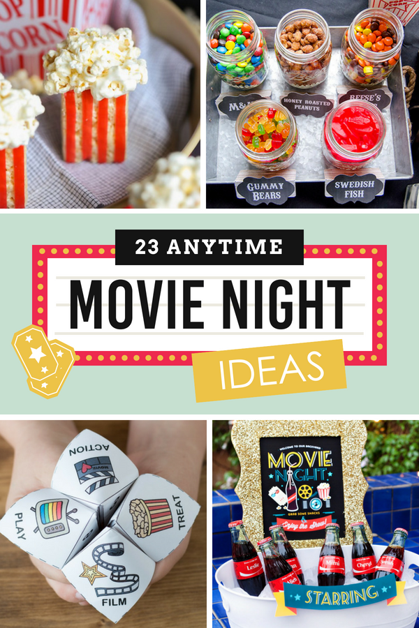 Movie Night Ideas for Anytime