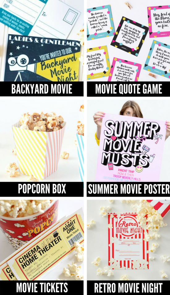 Movie Night Ideas for Kids