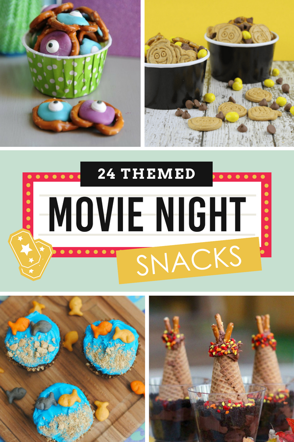 Themed Movie Night Snacks and Treats