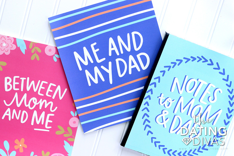 Cute Parent Child Journal Covers