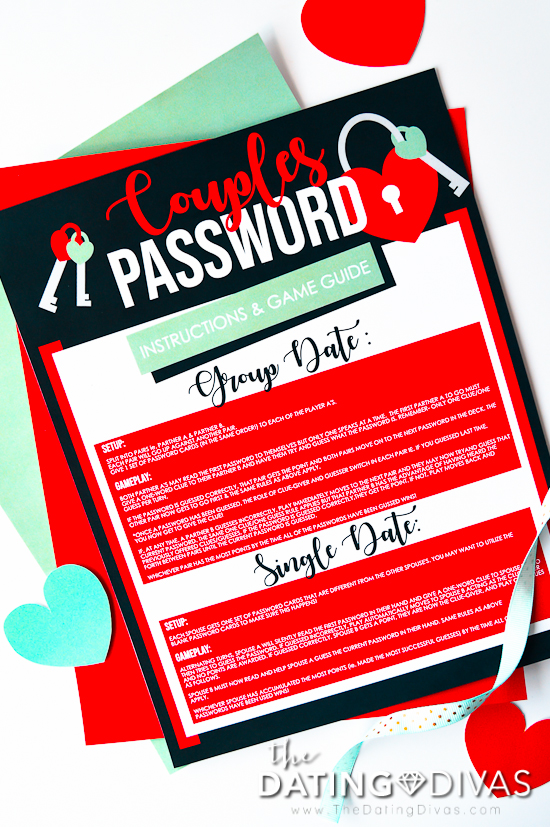 Password Couples Game Night Rules