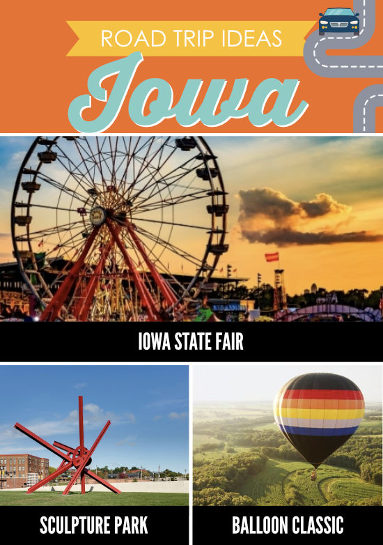 Places to Visit in Iowa
