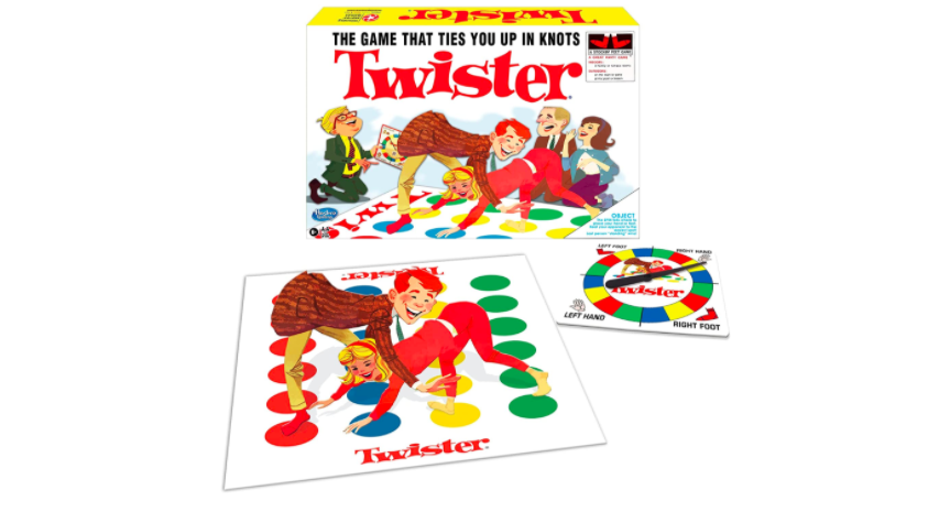 Twister turned strip game | The Dating Divas