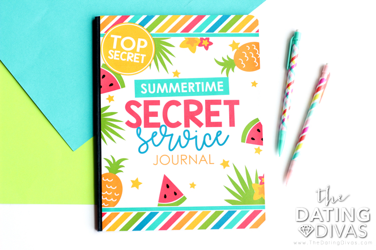 Secret Service Journal for Kids