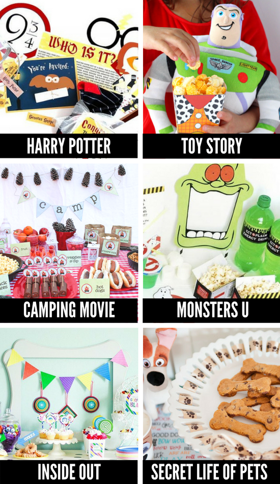 Themed Movie Night Ideas for Family