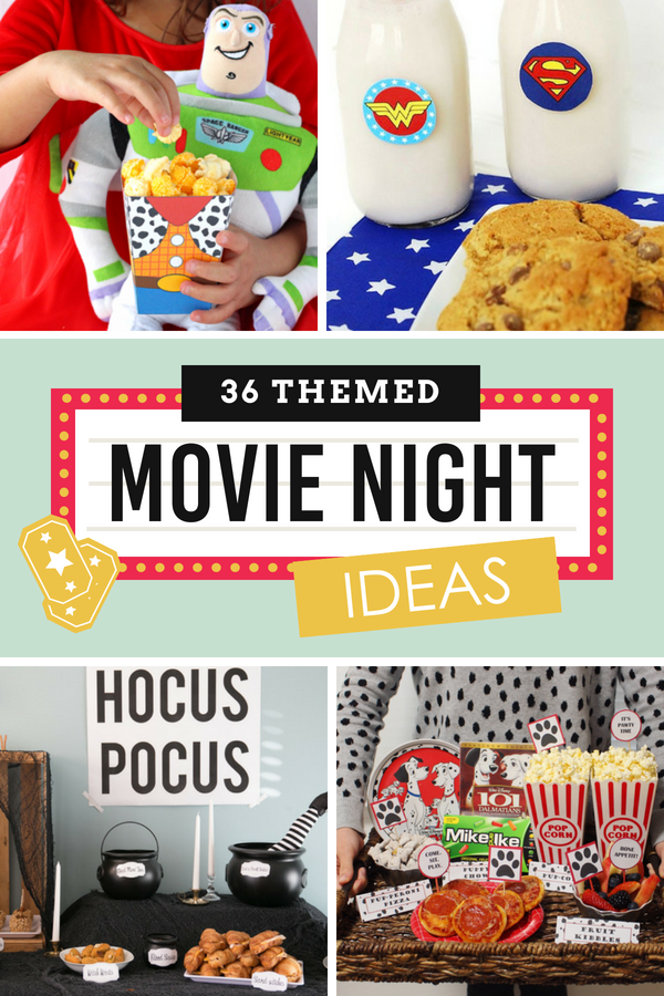 Themed Movie Night Ideas for Kids