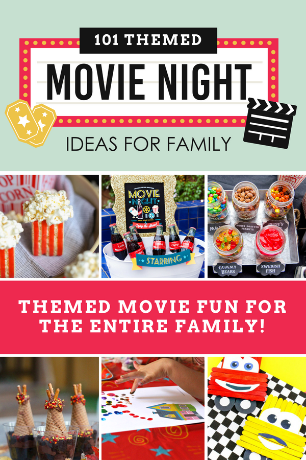 Have some fun the whole family will remember with these themed movie night ideas! #movienightideas #movienightsnacks #datingdivas