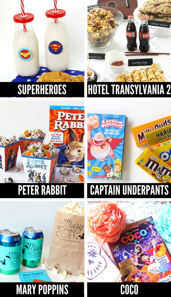 Themed Movie Night Ideas