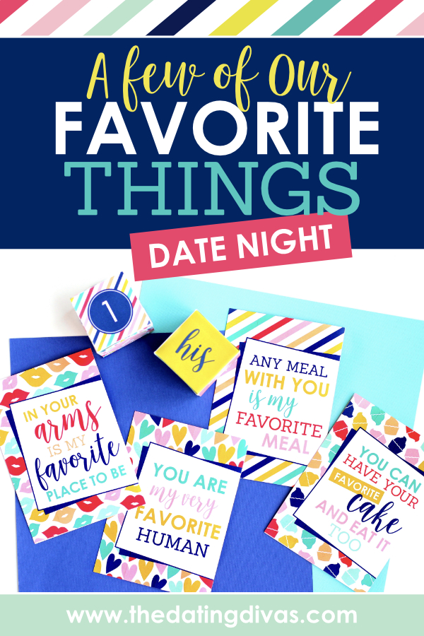 Do a few of your favorite things with your spouse for date night tonight! #FavoriteThings #EasyDateNightIdea