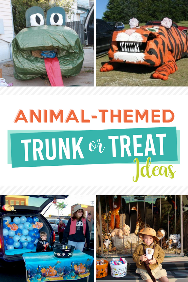 Animal-Themed Trunk or Treat Ideas