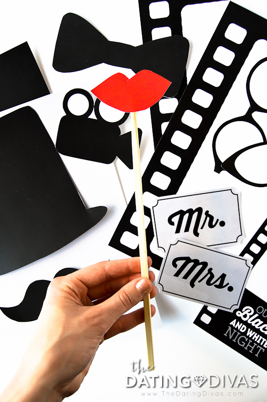 Black and White Movie Photo Booth