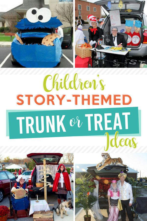 Children's Story-Themed Trunk or Treat Ideas