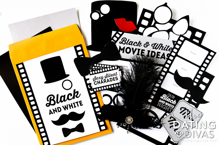Date Ideas for Black and White Movie Night