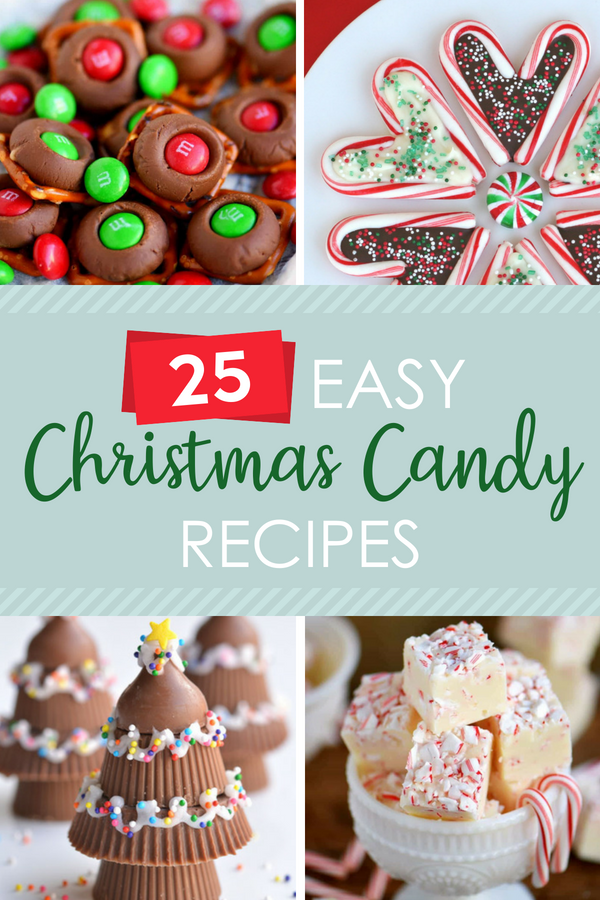 Easy Christmas Candy Recipes
