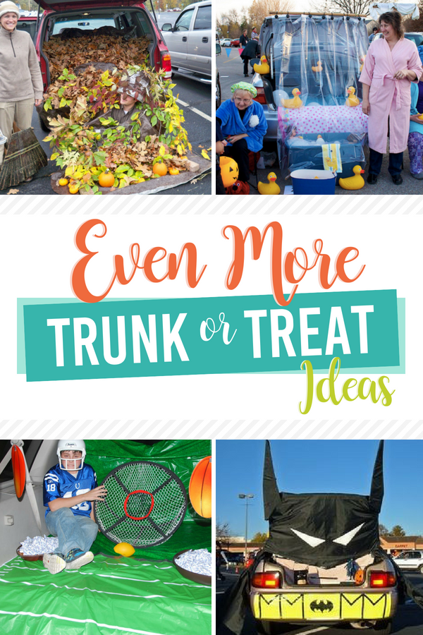 Even More Trunk or Treat Ideas