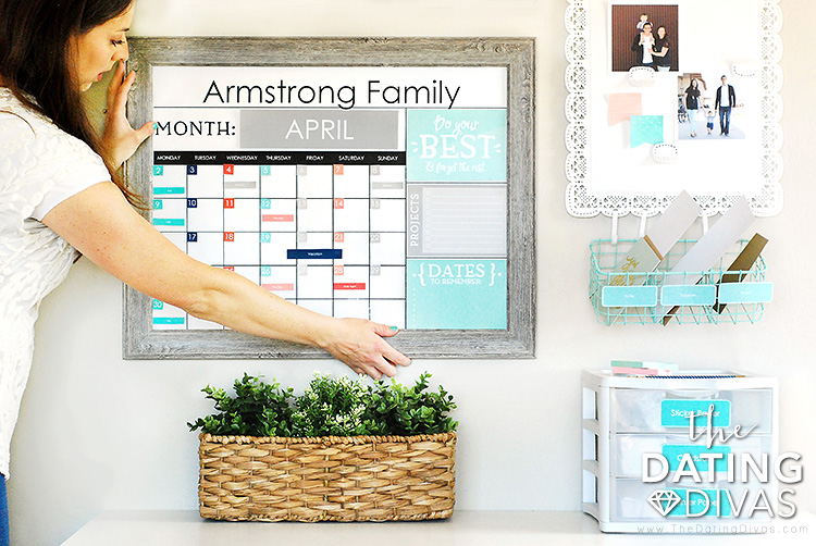 Family Command Center Ideas For Hanging