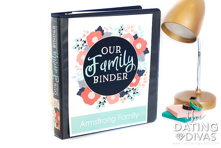 Family Organization Ideas Binder