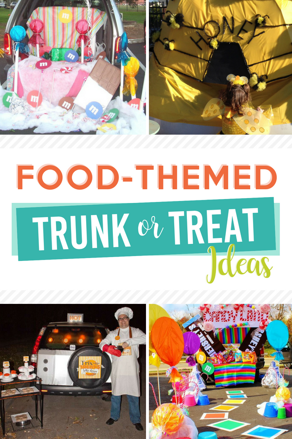 Food-Themed Trunk or Treat Ideas
