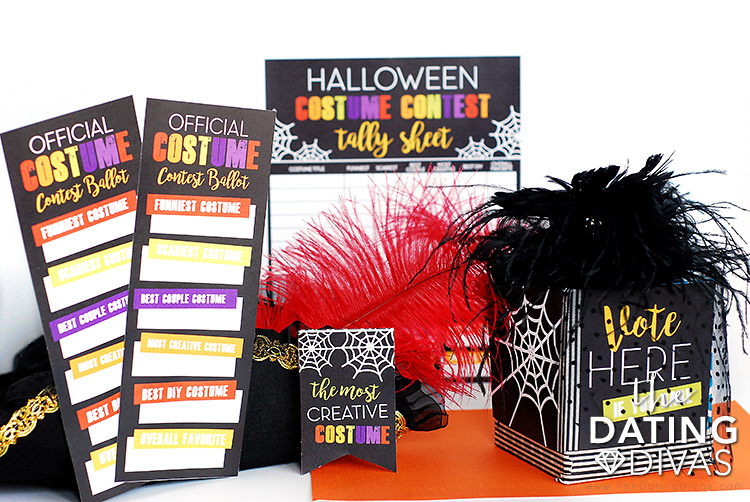 Halloween Costume Contest Printables