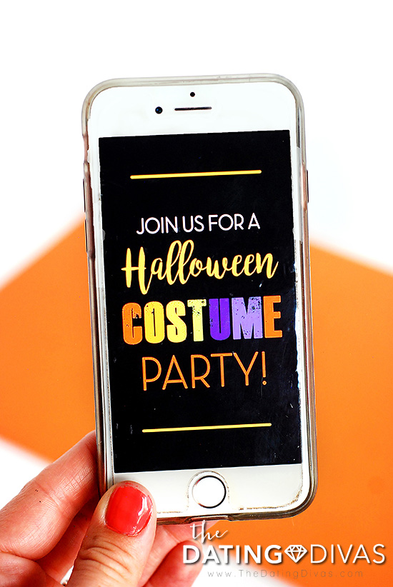Halloween Costume Party Invite