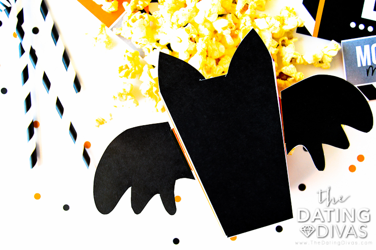 Halloween Movie Marathon Popcorn Boxes