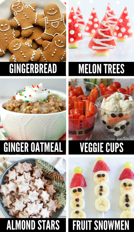 Healthy Christmas Treats and Christmas Candy