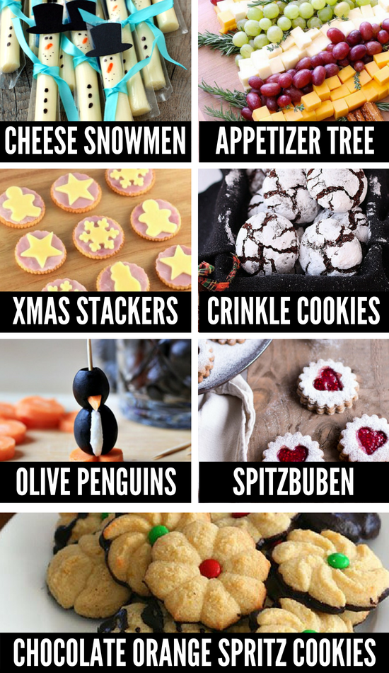 Healthy Christmas Treats and Food