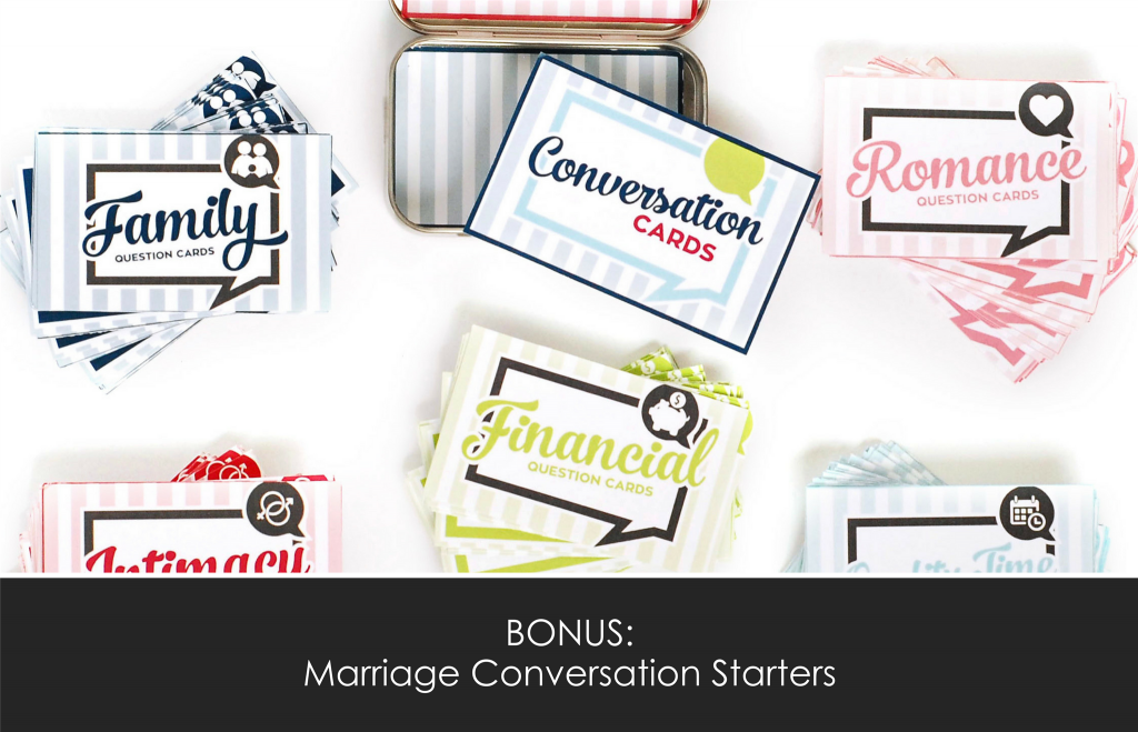 Marriage Conversation Cards