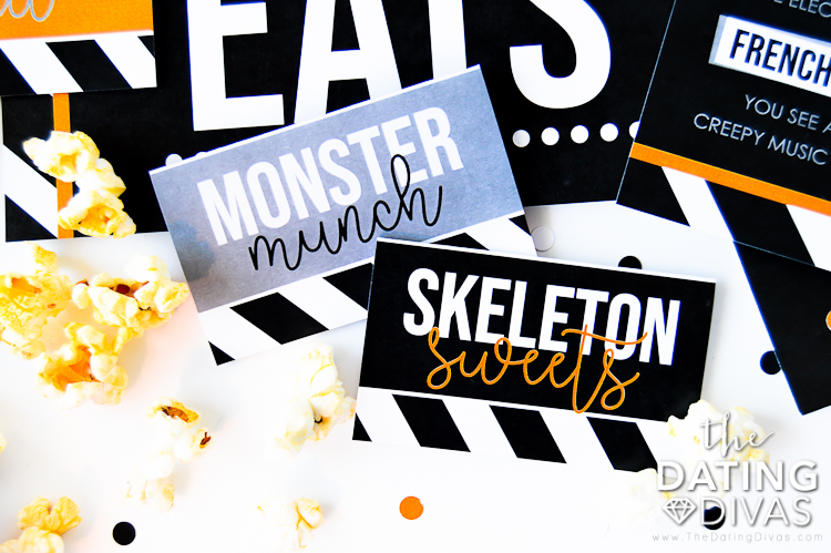 Movie Marathon Treats and Halloween Movies List