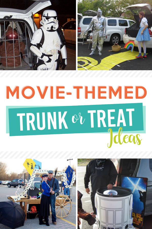 Movie-Themed Trunk or Treat Ideas