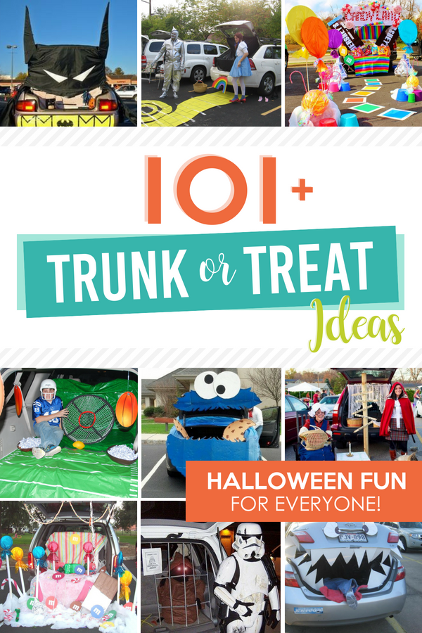 So Trunk or Treat Ideas that are absolutely AMAZING!! #trunkortreat #trunkortreatideas #thedatingdivas