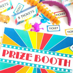 Prize Booth Printables