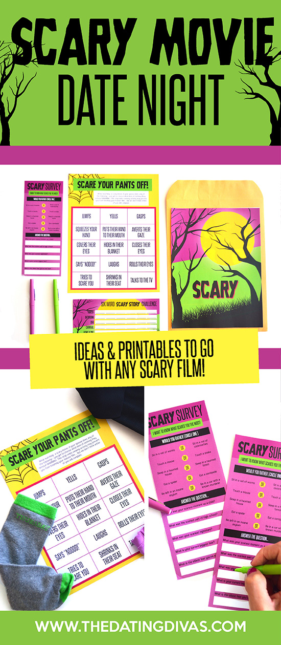 I love to hate scary movies! Can't wait to surprise my sweetie with this fun movie date night! #ScaryMovies #MovieDates
